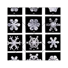 Snowflakes Exemplifies Emergence In A Physical System Acrylic Tangram Puzzle (6  X 6 )