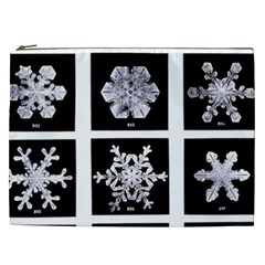Snowflakes Exemplifies Emergence In A Physical System Cosmetic Bag (xxl)