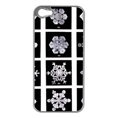 Snowflakes Exemplifies Emergence In A Physical System Apple Iphone 5 Case (silver)