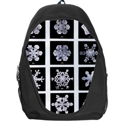 Snowflakes Exemplifies Emergence In A Physical System Backpack Bag
