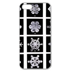 Snowflakes Exemplifies Emergence In A Physical System Apple Seamless Iphone 5 Case (clear)