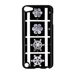 Snowflakes Exemplifies Emergence In A Physical System Apple iPod Touch 5 Case (Black)