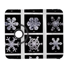 Snowflakes Exemplifies Emergence In A Physical System Galaxy S3 (flip/folio)