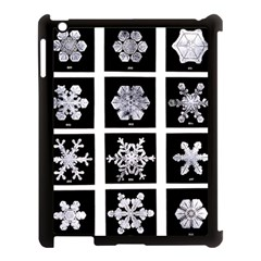 Snowflakes Exemplifies Emergence In A Physical System Apple Ipad 3/4 Case (black)