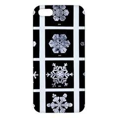 Snowflakes Exemplifies Emergence In A Physical System Apple Iphone 5 Premium Hardshell Case