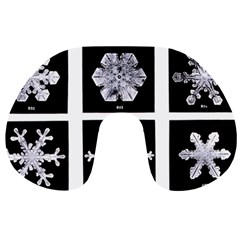 Snowflakes Exemplifies Emergence In A Physical System Travel Neck Pillows