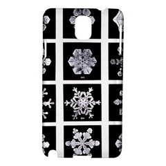 Snowflakes Exemplifies Emergence In A Physical System Samsung Galaxy Note 3 N9005 Hardshell Case