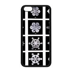 Snowflakes Exemplifies Emergence In A Physical System Apple Iphone 5c Seamless Case (black)