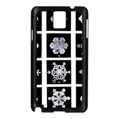 Snowflakes Exemplifies Emergence In A Physical System Samsung Galaxy Note 3 N9005 Case (black)