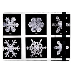 Snowflakes Exemplifies Emergence In A Physical System Samsung Galaxy Tab Pro 12 2  Flip Case