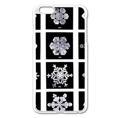 Snowflakes Exemplifies Emergence In A Physical System Apple Iphone 6 Plus/6s Plus Enamel White Case