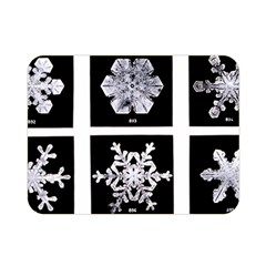 Snowflakes Exemplifies Emergence In A Physical System Double Sided Flano Blanket (mini)