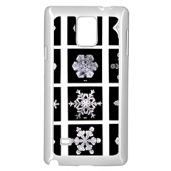 Snowflakes Exemplifies Emergence In A Physical System Samsung Galaxy Note 4 Case (white)