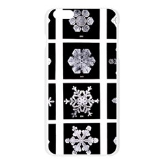 Snowflakes Exemplifies Emergence In A Physical System Apple Seamless iPhone 6 Plus/6S Plus Case (Transparent)