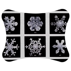Snowflakes Exemplifies Emergence In A Physical System Jigsaw Puzzle Photo Stand (bow)