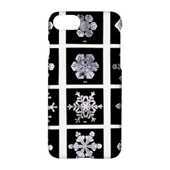 Snowflakes Exemplifies Emergence In A Physical System Apple iPhone 7 Hardshell Case