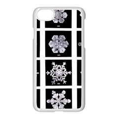 Snowflakes Exemplifies Emergence In A Physical System Apple Iphone 7 Seamless Case (white)