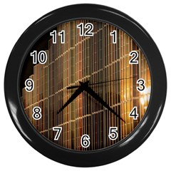 Swisstech Convention Center Wall Clocks (black)