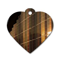 Swisstech Convention Center Dog Tag Heart (two Sides)
