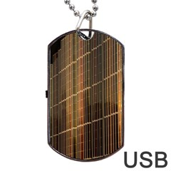 Swisstech Convention Center Dog Tag Usb Flash (two Sides)