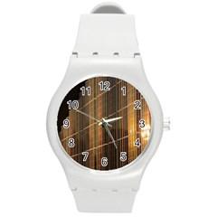 Swisstech Convention Center Round Plastic Sport Watch (m)