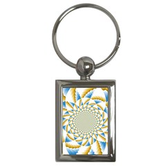 Tech Neon And Glow Backgrounds Psychedelic Art Psychedelic Art Key Chains (rectangle)