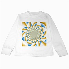 Tech Neon And Glow Backgrounds Psychedelic Art Psychedelic Art Kids Long Sleeve T Shirts