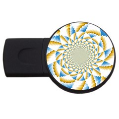 Tech Neon And Glow Backgrounds Psychedelic Art Psychedelic Art Usb Flash Drive Round (4 Gb)