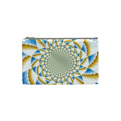 Tech Neon And Glow Backgrounds Psychedelic Art Psychedelic Art Cosmetic Bag (small)