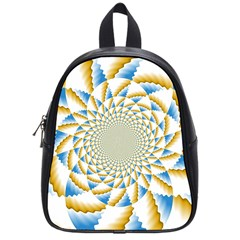Tech Neon And Glow Backgrounds Psychedelic Art Psychedelic Art School Bags (small)