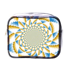 Tech Neon And Glow Backgrounds Psychedelic Art Psychedelic Art Mini Toiletries Bags