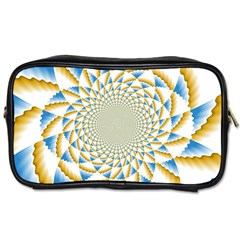Tech Neon And Glow Backgrounds Psychedelic Art Psychedelic Art Toiletries Bags 2 Side