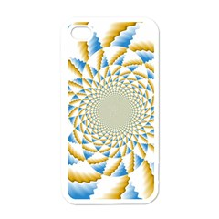 Tech Neon And Glow Backgrounds Psychedelic Art Psychedelic Art Apple Iphone 4 Case (white)