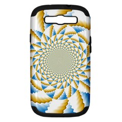Tech Neon And Glow Backgrounds Psychedelic Art Psychedelic Art Samsung Galaxy S Iii Hardshell Case (pc+silicone)