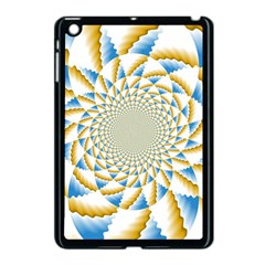 Tech Neon And Glow Backgrounds Psychedelic Art Psychedelic Art Apple Ipad Mini Case (black)