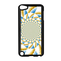 Tech Neon And Glow Backgrounds Psychedelic Art Psychedelic Art Apple Ipod Touch 5 Case (black)