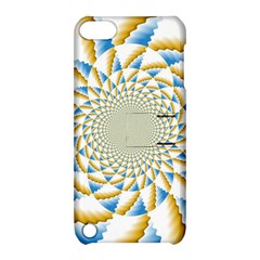 Tech Neon And Glow Backgrounds Psychedelic Art Psychedelic Art Apple Ipod Touch 5 Hardshell Case With Stand