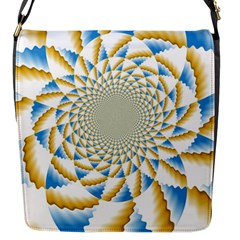 Tech Neon And Glow Backgrounds Psychedelic Art Psychedelic Art Flap Messenger Bag (s)