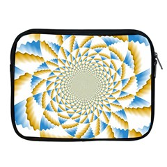 Tech Neon And Glow Backgrounds Psychedelic Art Psychedelic Art Apple Ipad 2/3/4 Zipper Cases