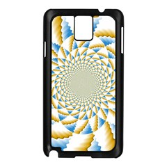 Tech Neon And Glow Backgrounds Psychedelic Art Psychedelic Art Samsung Galaxy Note 3 N9005 Case (black)