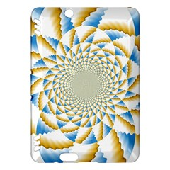 Tech Neon And Glow Backgrounds Psychedelic Art Psychedelic Art Kindle Fire Hdx Hardshell Case