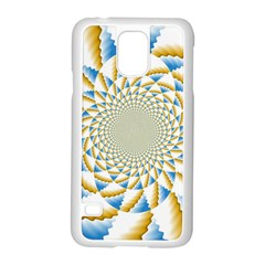 Tech Neon And Glow Backgrounds Psychedelic Art Psychedelic Art Samsung Galaxy S5 Case (White)