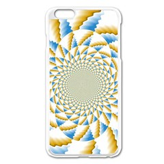 Tech Neon And Glow Backgrounds Psychedelic Art Psychedelic Art Apple Iphone 6 Plus/6s Plus Enamel White Case