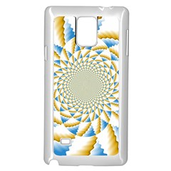 Tech Neon And Glow Backgrounds Psychedelic Art Psychedelic Art Samsung Galaxy Note 4 Case (white)