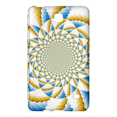 Tech Neon And Glow Backgrounds Psychedelic Art Psychedelic Art Samsung Galaxy Tab 4 (7 ) Hardshell Case