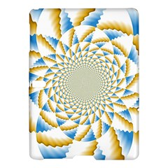 Tech Neon And Glow Backgrounds Psychedelic Art Psychedelic Art Samsung Galaxy Tab S (10 5 ) Hardshell Case