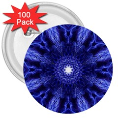 Tech Neon And Glow Backgrounds Psychedelic Art 3  Buttons (100 Pack)