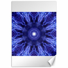 Tech Neon And Glow Backgrounds Psychedelic Art Canvas 12  X 18