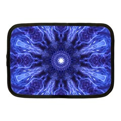 Tech Neon And Glow Backgrounds Psychedelic Art Netbook Case (medium)