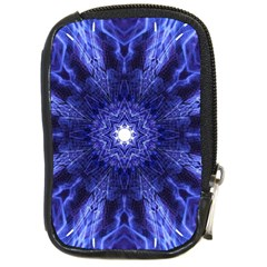 Tech Neon And Glow Backgrounds Psychedelic Art Compact Camera Cases